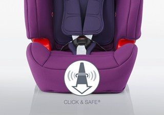Click & Safe Audible Harness System